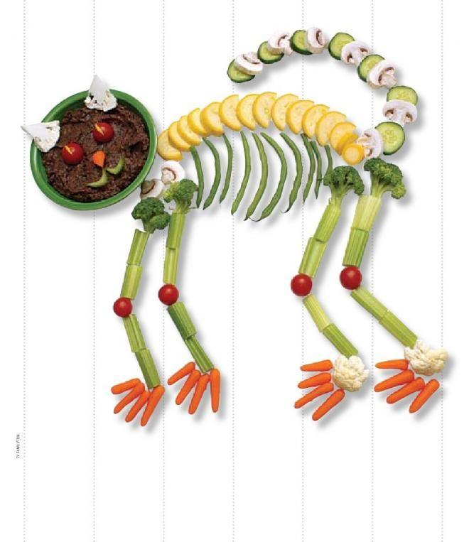Healthy Halloween Treats -   Comida divertida   Pinterest ...