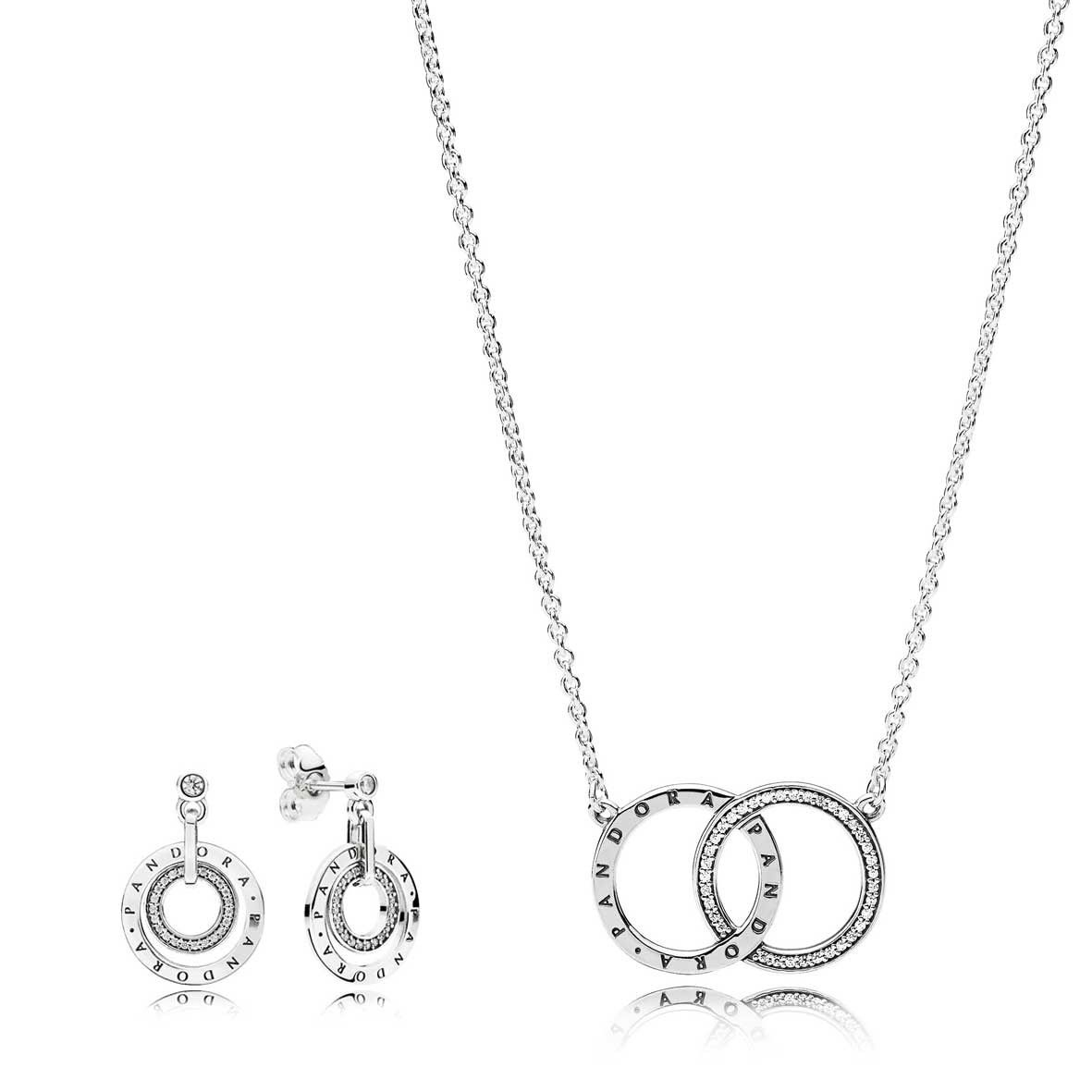 19cab17cc PANDORA CIRCLES JEWELLERY SET - Pandora Black Friday 2018 sale ...