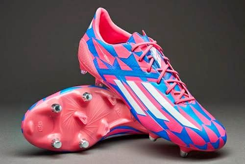 f08b5fc9a Adidas F50 adizero SG Football Boots with Pink Color