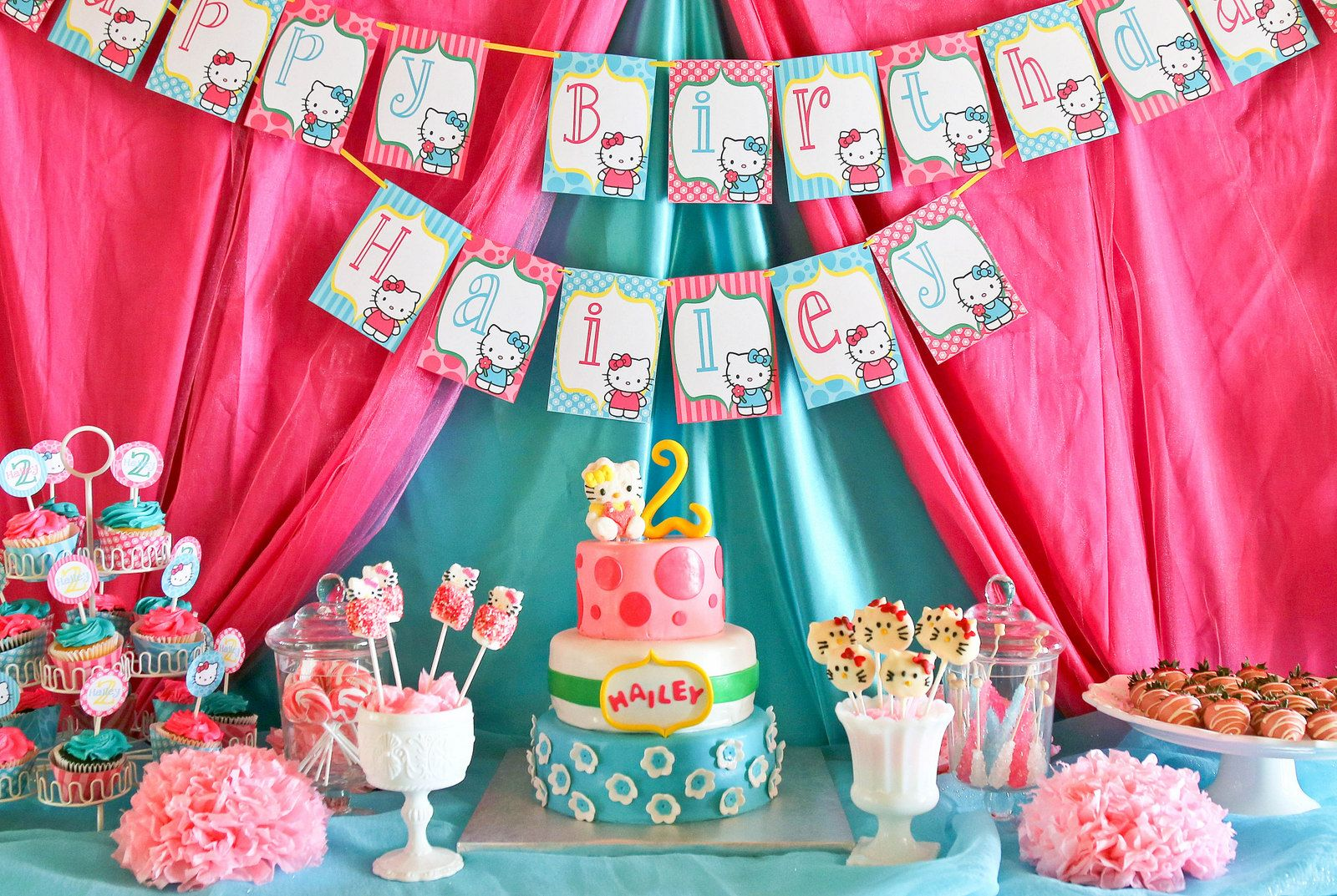 hello kitty birthday party ideas   Hello Kitty Party: Hailey's Hello Kitty Birthday