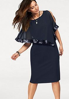 Zizzi Koktejlové šaty | Šaty, Moda, Pohodlné oblečenie