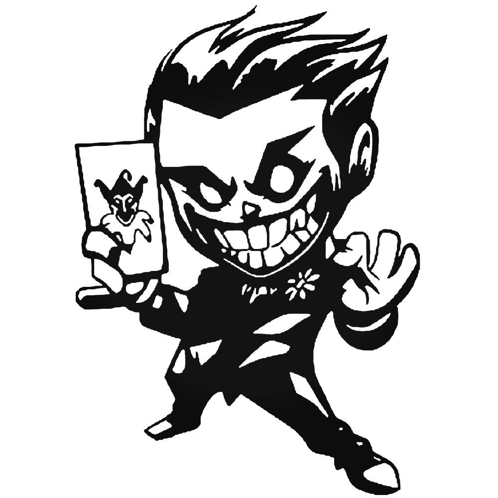 Batman chibi joker decal sticker ballzbeatz com