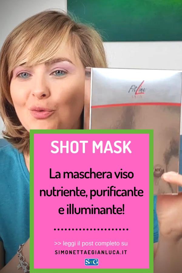 Maschera viso nutriente e purificante Shot Mask FitLine Skin