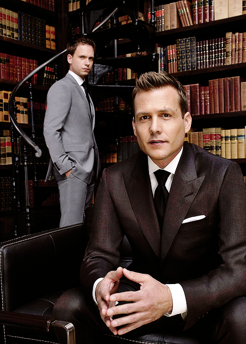 Harvey and Mike #Suits #SuitsUSA