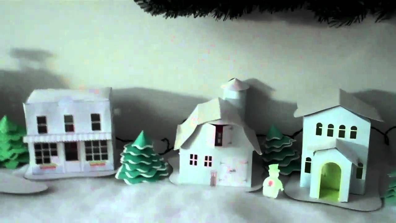 2010 Paper Christmas Village