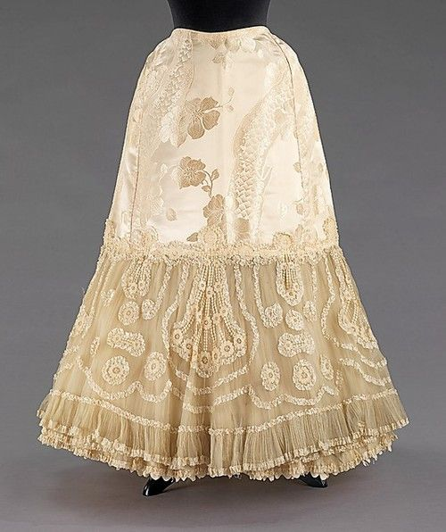 Wedding Petticoat  1904  The Metropolitan Museum of Art