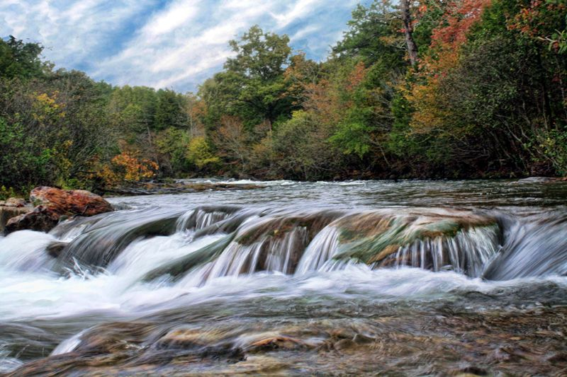 Ten Most Beautiful Places In Oklahoma Beautiful Waterfalls