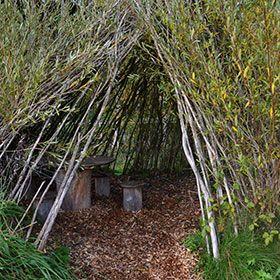 weiden-tipi und weidentunnel selber bauen | garten | pinterest, Garten und Bauen