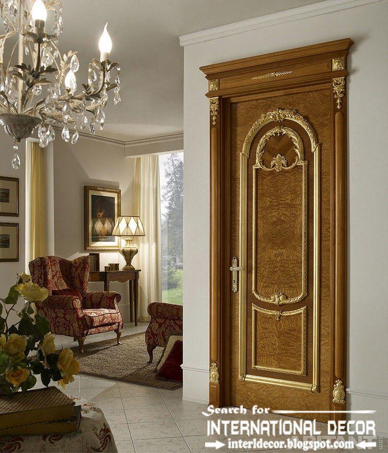 luxury interior doors for classic interior, Italian door ...