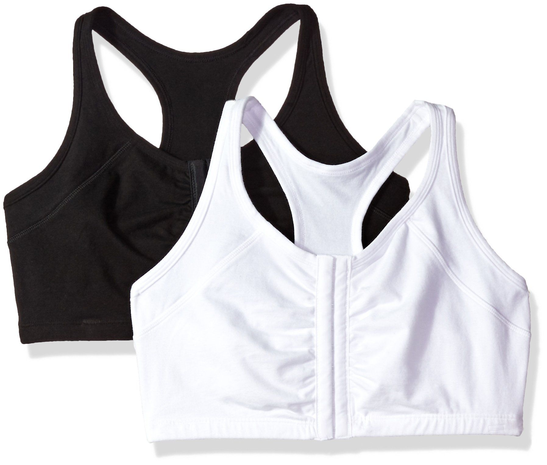 9363068b45 Fruit of the Loom Women s Front Close Racerback (Pack of 2)