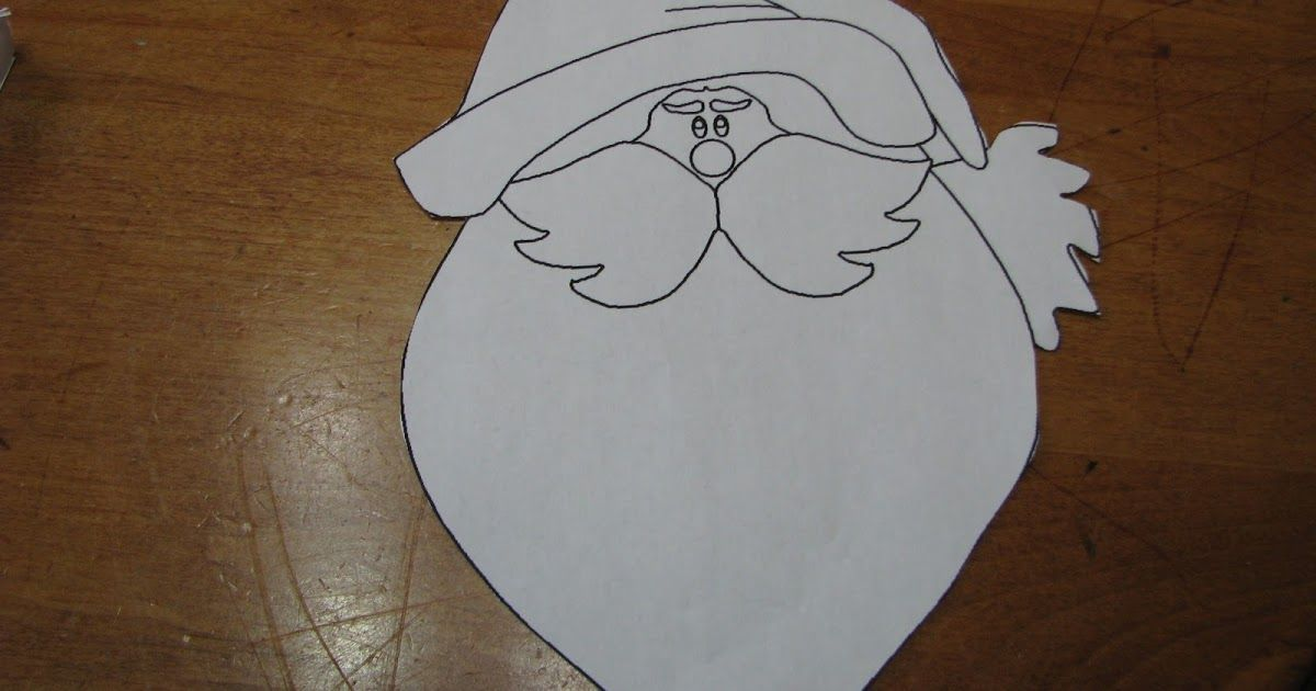 """Today we talked about Santa Claus. We read some books about Santa. Mary Engelbreit has a wonderfully illustrated """"The Night Before Christma..."""