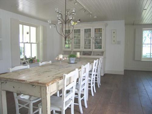 Nantucket Beach House Style New England Home Designs Find Plans Dining Table