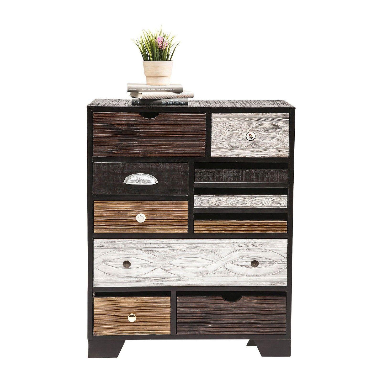 Commode Ethnique En Bois Quinta Kare Design Tiroir Collection De Meubles Mobilier De Salon