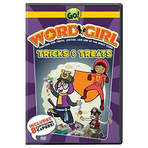 WORDGIRL:TRICKS & TREATS | Trick or treat, Cool things to ...