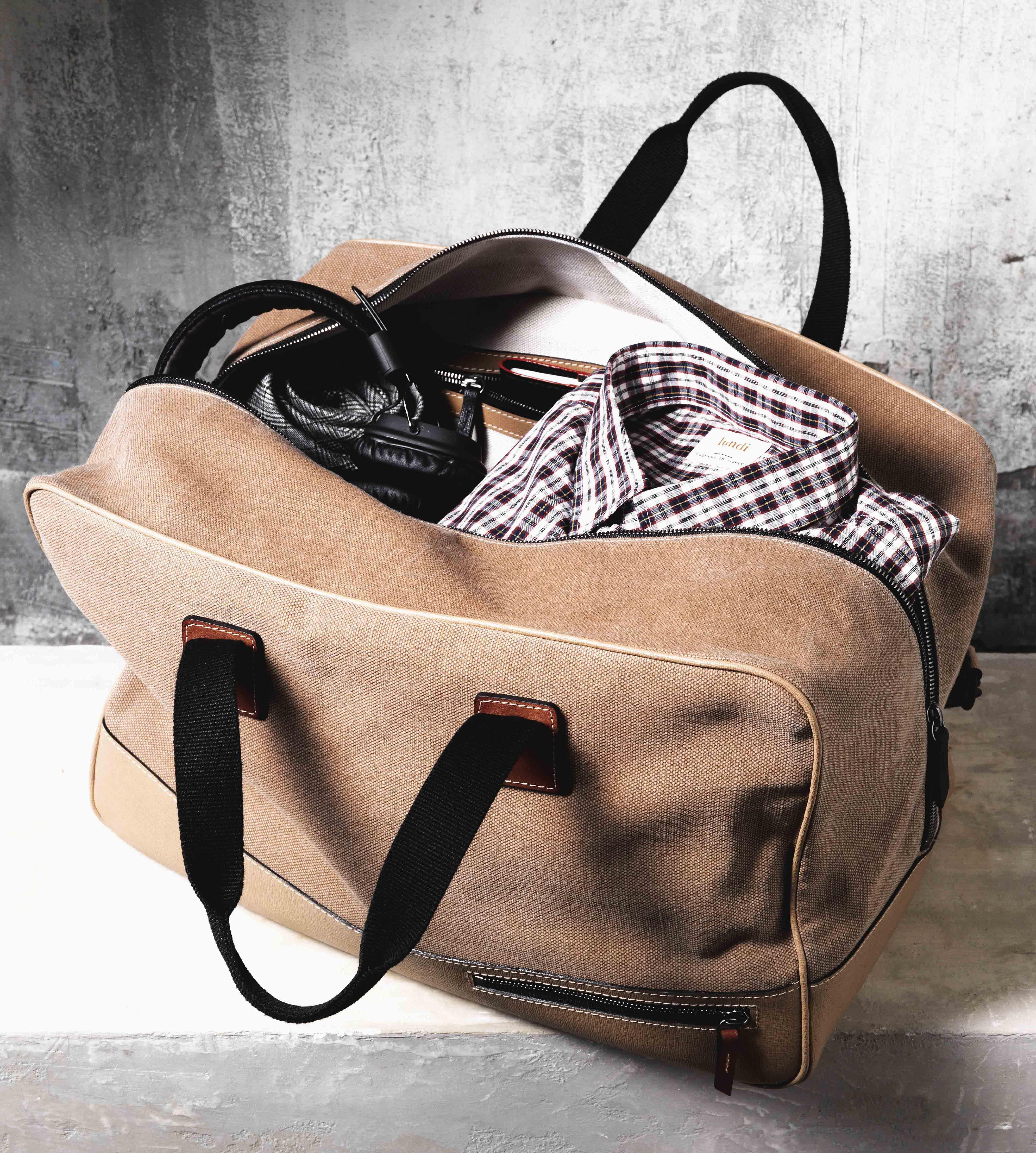 Bags ChicFringues Et Hipster Voyage Cuirgt; LundiToile Sac DEHI29