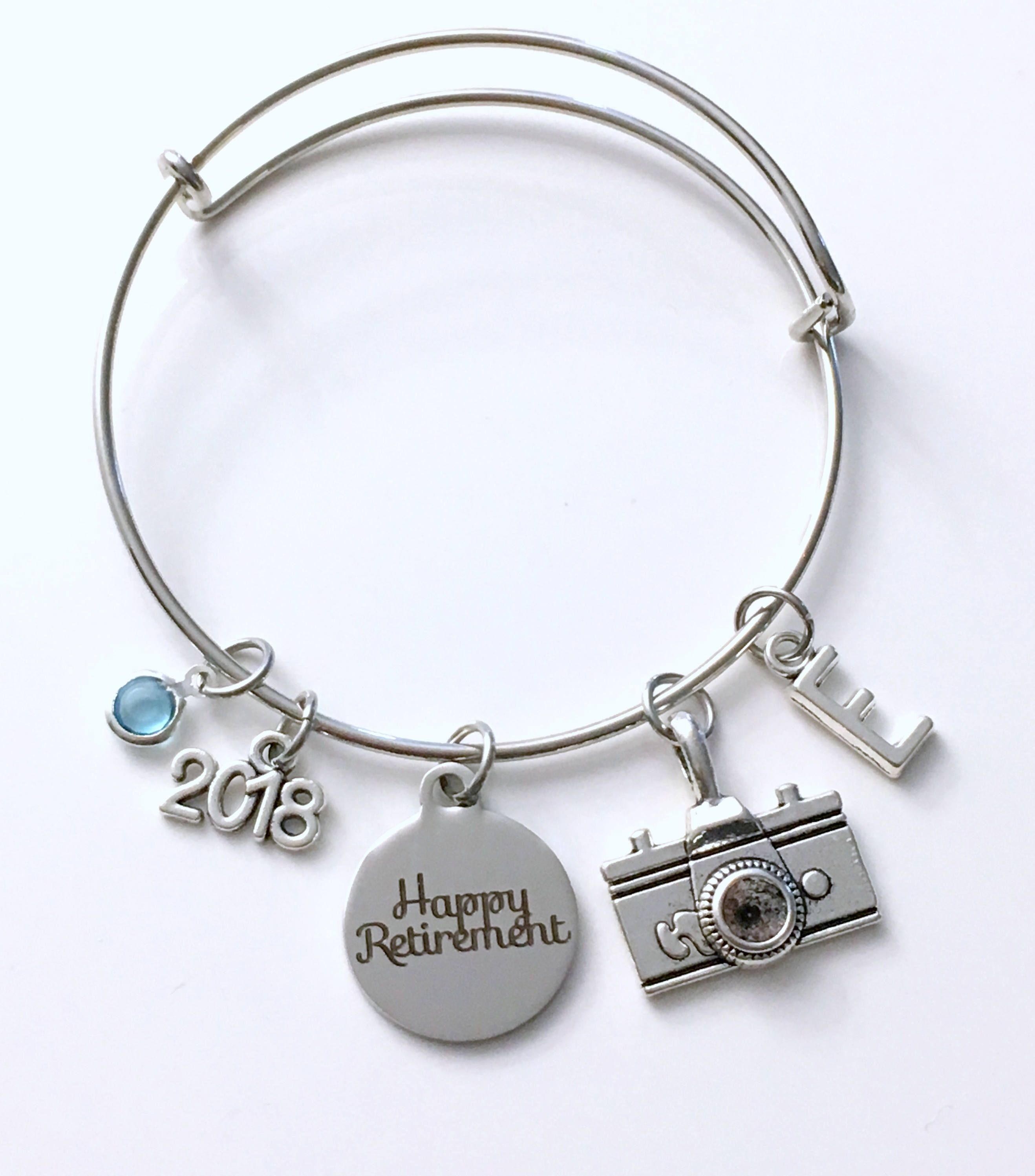 Retirement Gift For Photographer  Photography Camera Charm