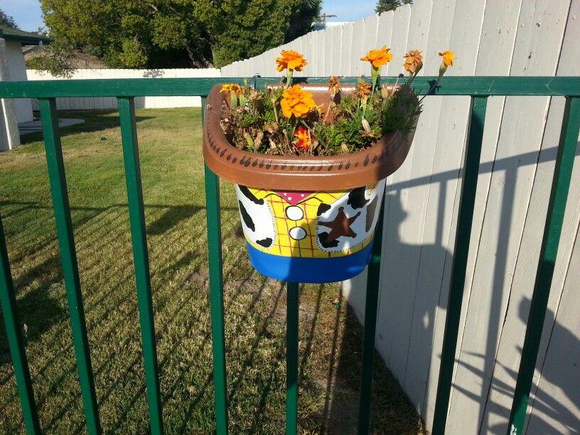 Toy Story Flower Pot