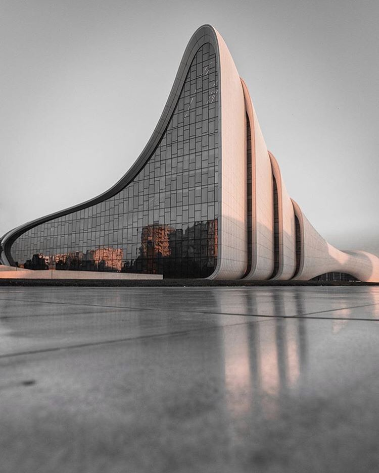 Caption This Image Heydar Aliyev Center Of Zahahadidarchitects In Baku Is Captured By Omarzoer Lenses Zaha Hadid Design Zaha Hadid Zaha Hadid Architecture