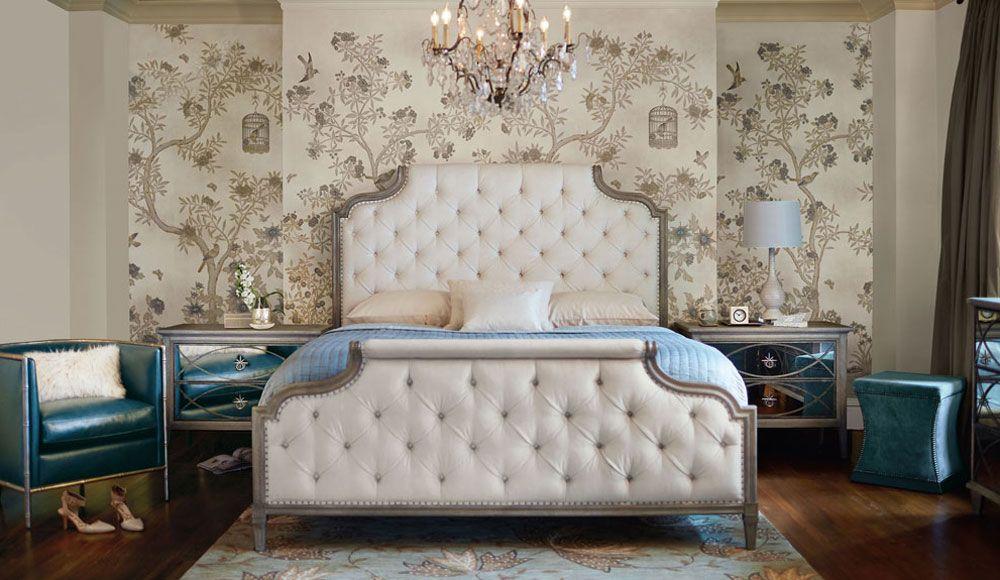 Bernhardt Furniture I Columbine Showroom  Bedroom _卧室 Glamorous Aaron Bedroom Set Review