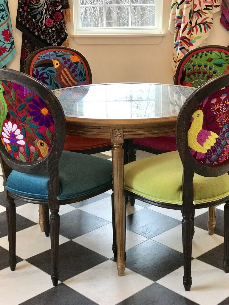Mexican Textiles That Wow With Images Mexican Dining Room Fabric Dining Room