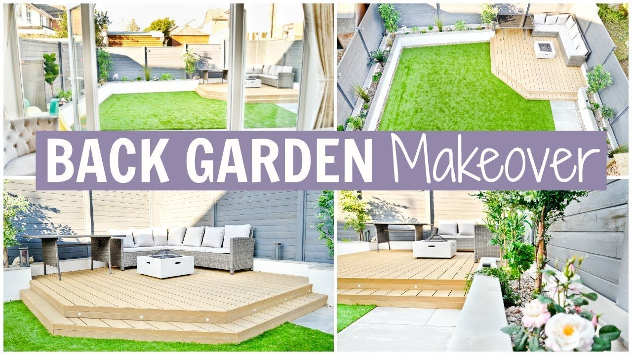 BACK GARDEN MAKEOVER - BEFORE & AFTER | Alex Gladwin in ...