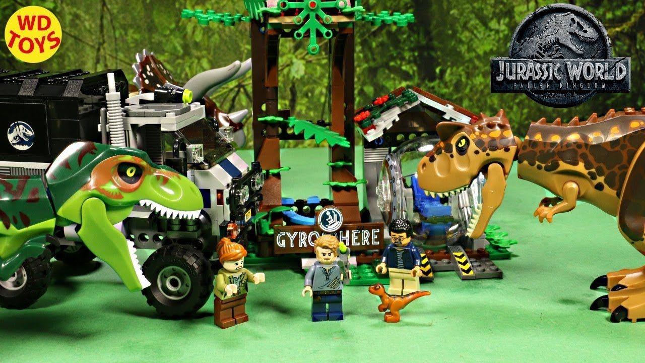 New Lego Jurassic World Carnotaurus Gyrosphere Escape Unboxing 75929 ...