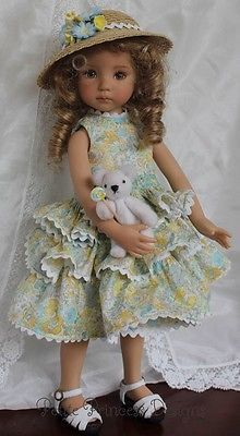 OOAK-Smocked-Ensemble-for-Effner-13-Little-Darling-Dolls. SOLD for $79.00 on 7/13/14.