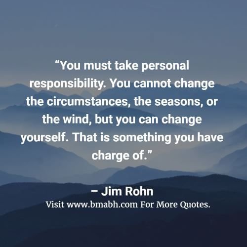 Quotes About Accepting Responsibility Health Quotes Inspirational Basic Quotes Quotes Inspirational Positive