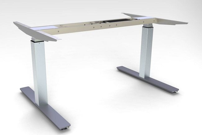Compare the different electric stand up desk bases available