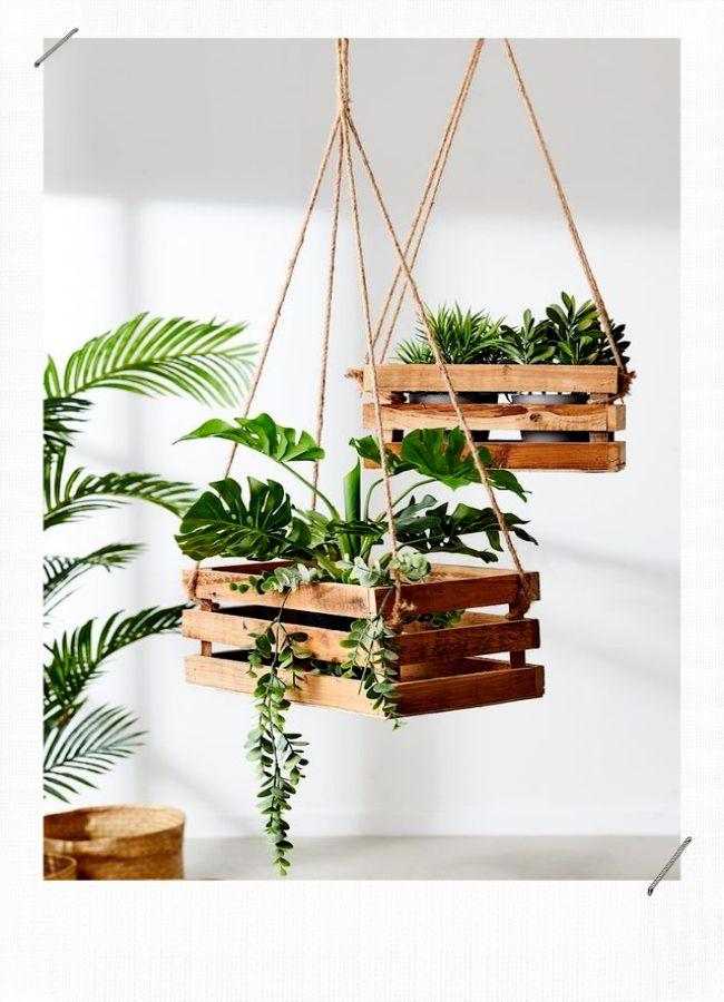 10 idées déco avec des caisses en bois- MissZaStyle – Blog Déco