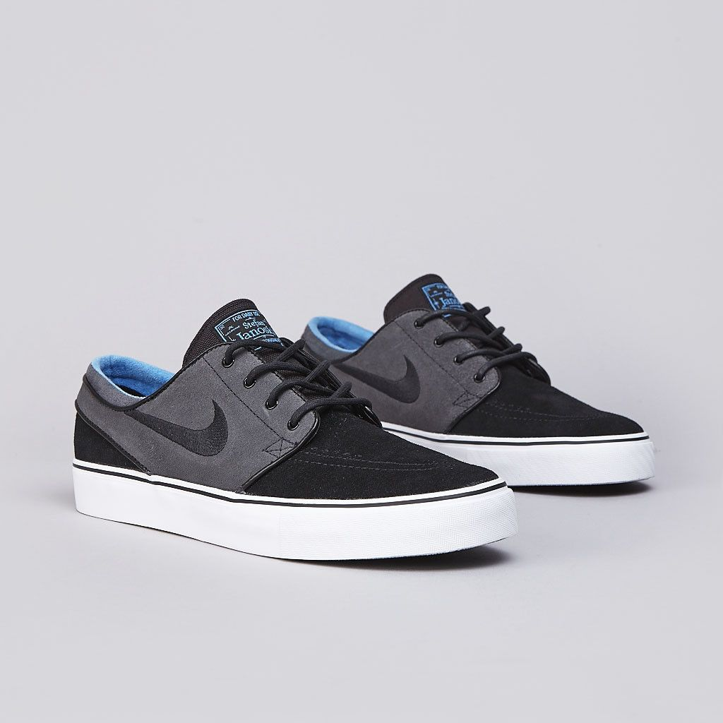 low priced 94152 0ddcc Nike SB Stefan Janoski – Black – Anthracite – Distance Blue