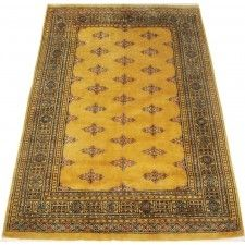 Beautiful handmade oriental rug. This gold color rug has a butterfly pattern with some imagination.This area rug will be a wonderful addition to your home decor',or a beautiful color theme starting point for decorating the rooms in your new home, or re-decorating the home you have enjoyed for years. This handmade oriental rug is made to last a good long while,bring warmth and comfort  to any small-medium room in your home.