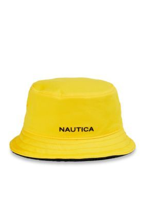 Nautica Men s Lil Yatchy Bucket Hat - Sulphur - L Xl  a4e2b3220335