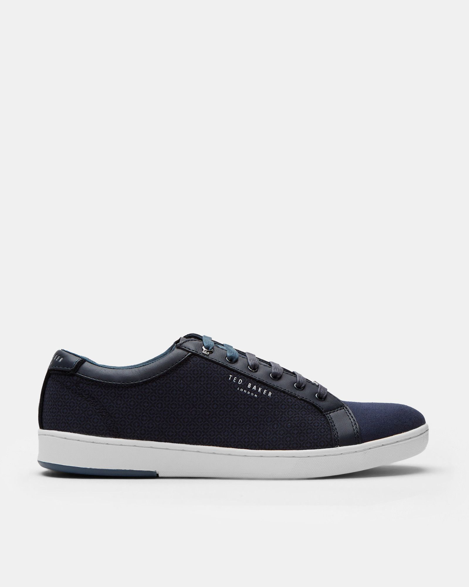 Ted Baker Textile low-top trainers Dark