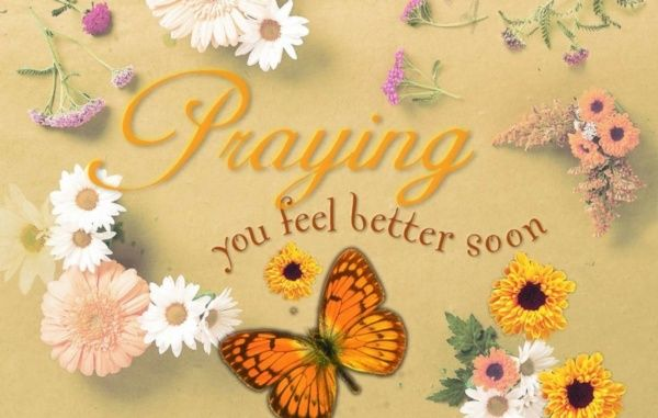 Get well soon messages religious get well flowers kjv postcard