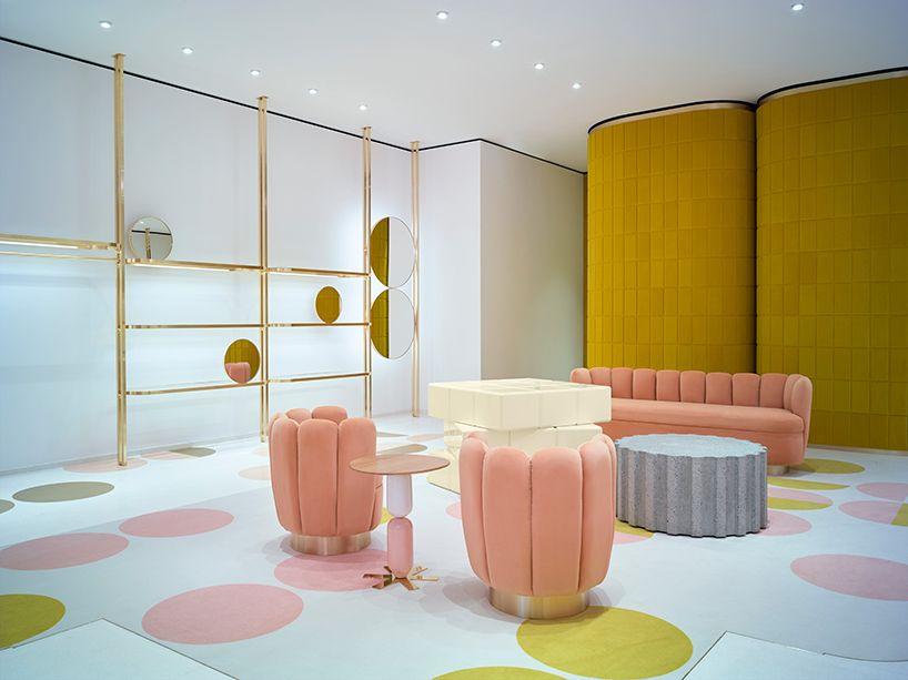 India Mahdavi Designs Redvalentino S Flagship London Store Store Design Interior Shop Interiors Commercial Interior Design