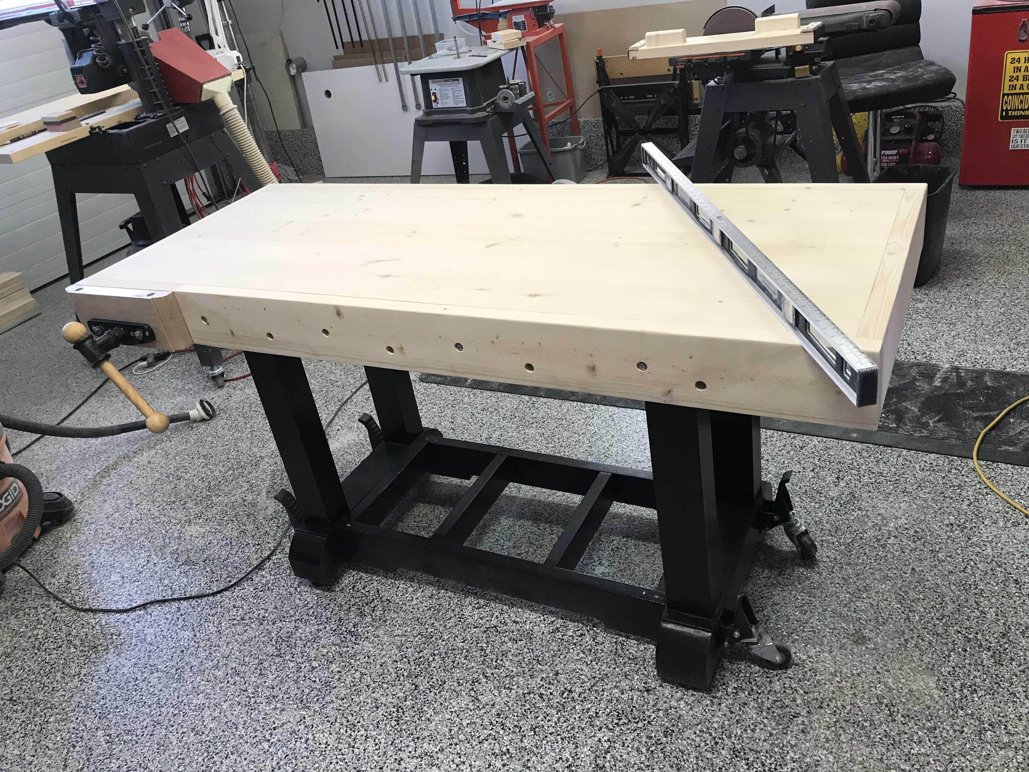 Pin By Davon Spexarth On Moxon Vise Woodworking Projects Workbench Drafting Desk