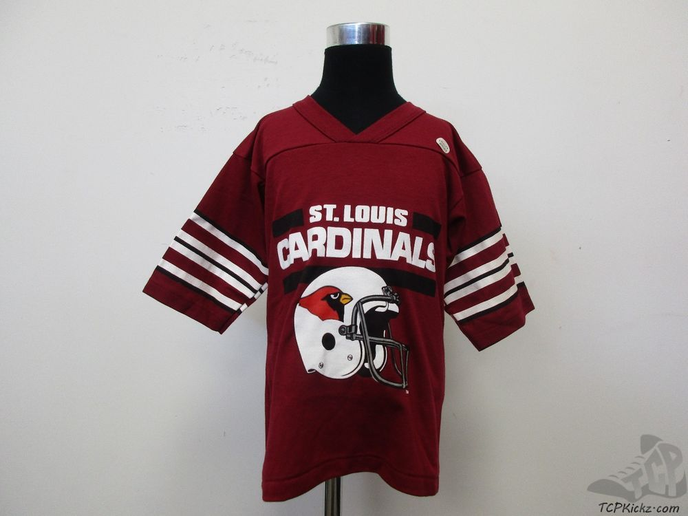 5793086d37 ... Vtg 80s 90s Garan St Louis Arizona Cardinals Jersey Shirt sz Youth XL NWT  NFL ...