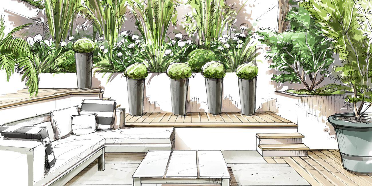 paris parc monceau loup co jardin architecture pinterest croquis dessin et jardins. Black Bedroom Furniture Sets. Home Design Ideas