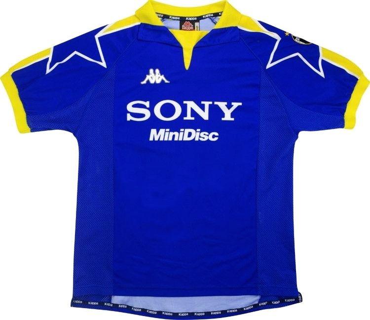 1997-98 Juventus Third Shirt *Mint* XL | Classic football shirts ...