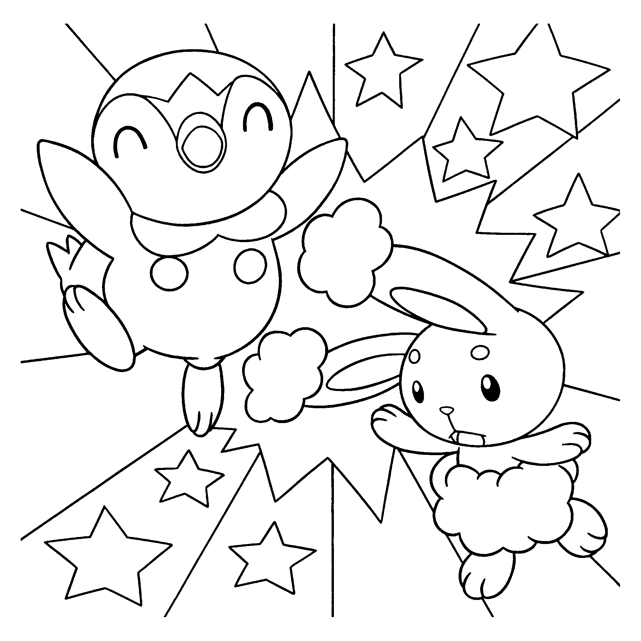 Coloring Page Pokemon Diamond Pearl Coloring Pages 93 Pokemon Coloring Pages Pokemon Coloring Coloring Pages