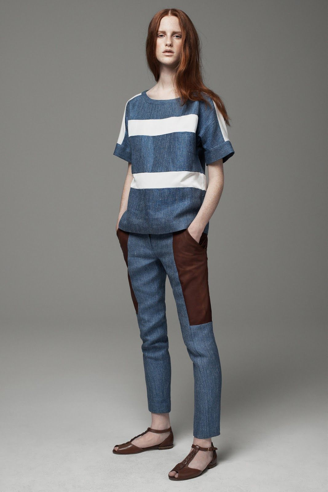 MAGDALENA JASEK FOR THAKOON ADDITION PRE-FALL 2013