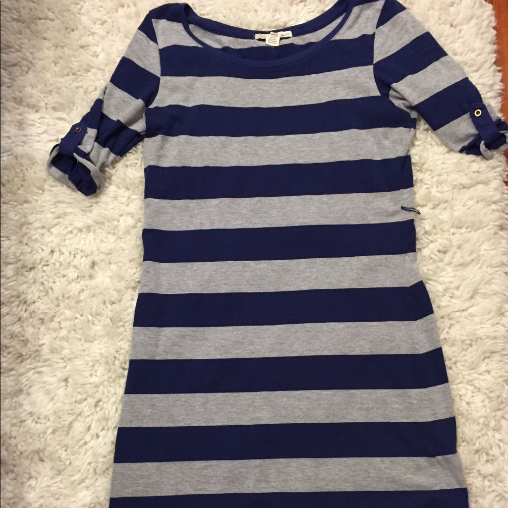 Reduced cute striped t shirt dress products