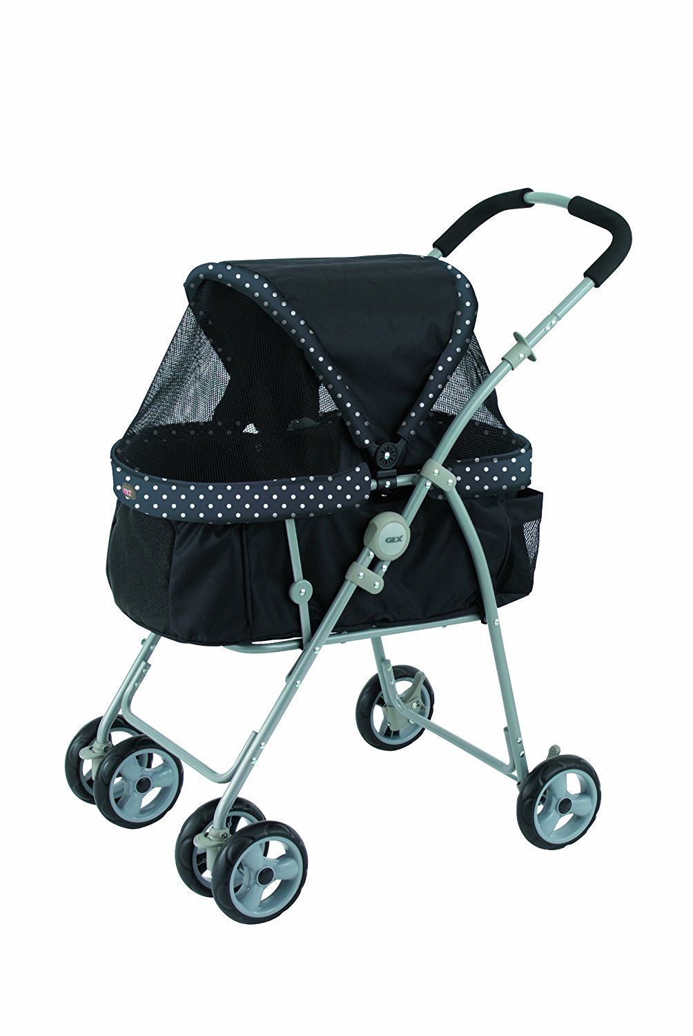 Oxford Pet Stroller Ebay Gex Cart Multi Head For Black Doggie Japan Import See