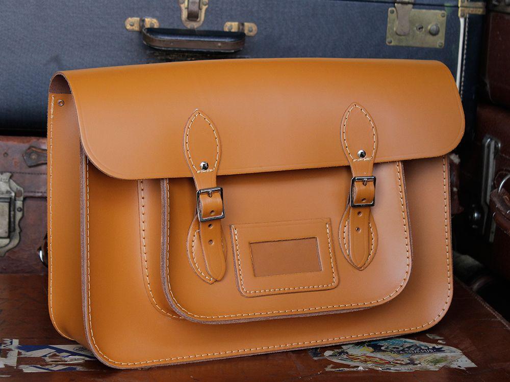 145f54331a5e ... los angeles 61c5d 9546b Classic London Tan Leather Satchel Backpack 15  InchBuy Classic London Tan Leather  size 40 17b71 69f60 Scaramanga Mens  Vintage ...