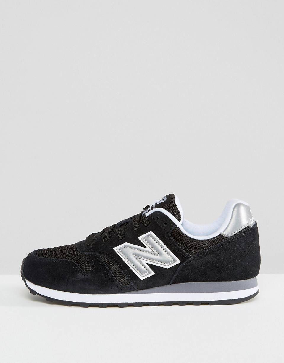 huge selection of 2caab 83fa9 New Balance 373 trainers in black   2018   New balance, ASOS ...