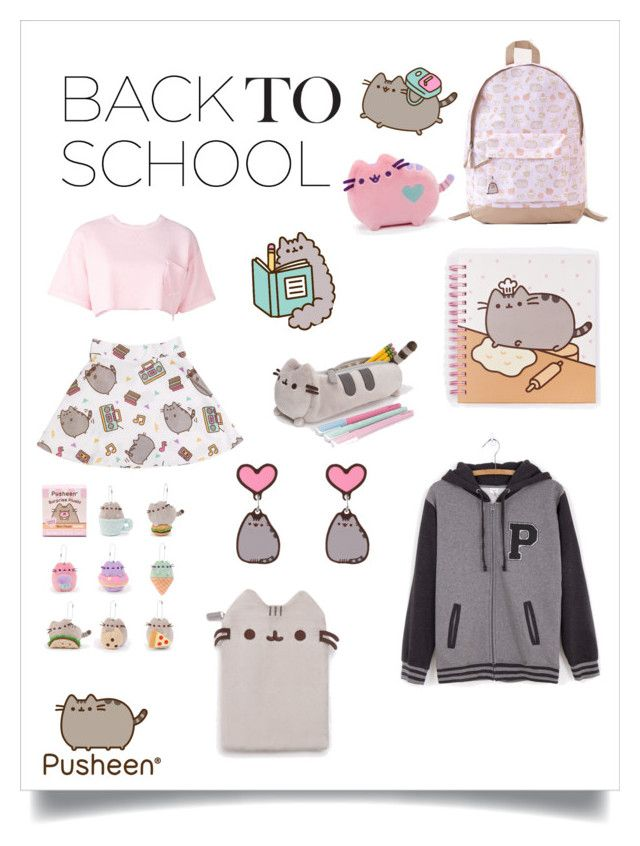 """""""#PVxPusheen"""" by alywood0825 ❤ liked on Polyvore featuring Pusheen, Steve J & Yoni P, contestentry and PVxPusheen"""