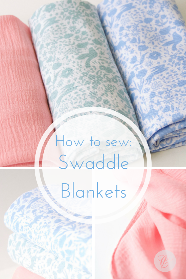 Swaddling And Receiving Blankets Classy How To Guide For Making Swaddle Blankets Sewing  Pinterest 2018