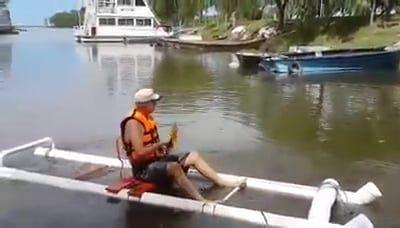 PVC DIY Kayak | Kayaking | Fishing boat accessories, Kayaking, Diy boat