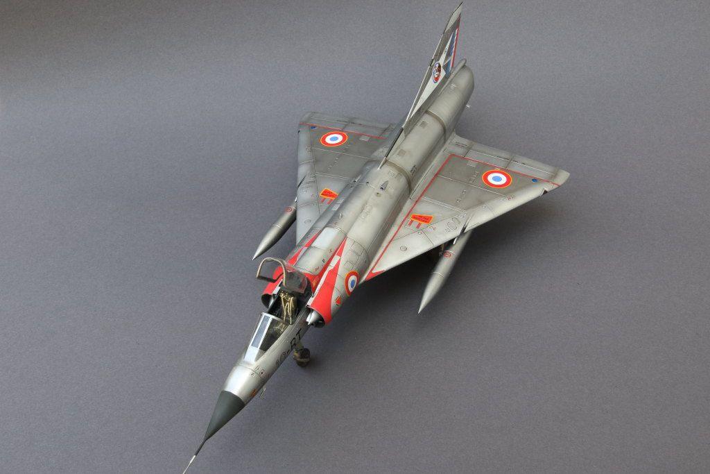 Mirage IIIC by KlausH (Eduard 1:48)